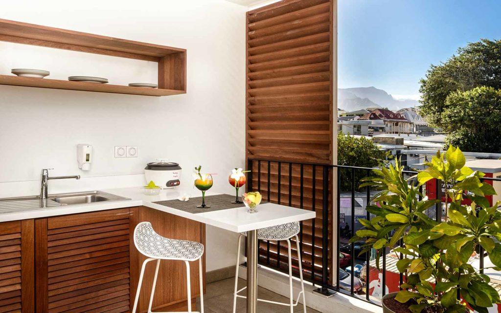 Hôtel Le Saint Pierre - La Réunion - Kitchenette studio