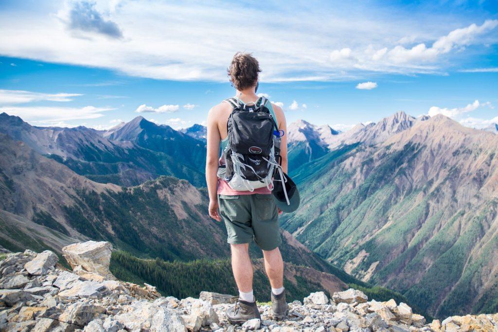 randonnées à la Réunion - randonneur